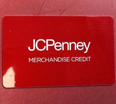 JCPenney gift card balance
